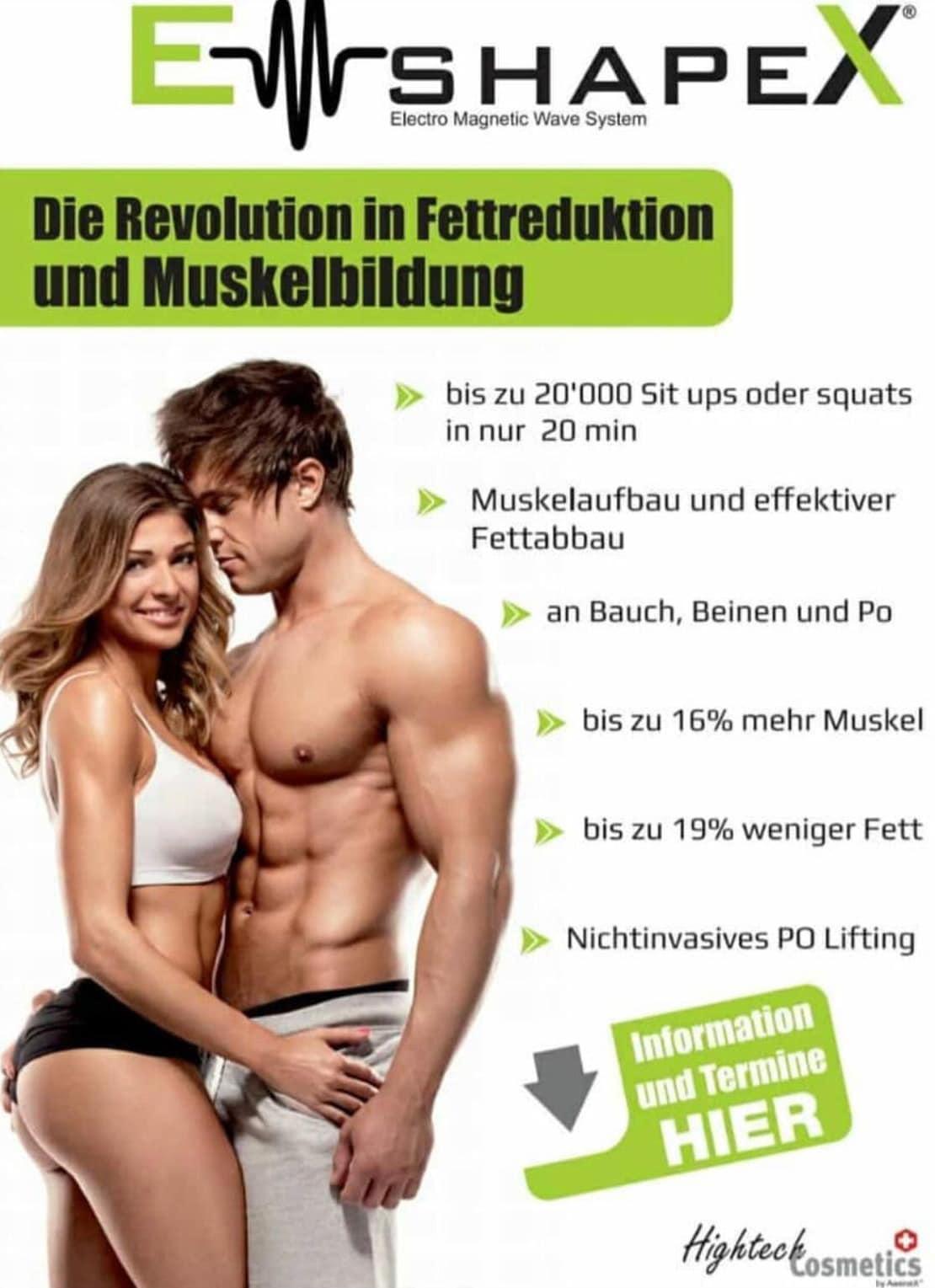 ShapeX Werbung Fettreduktion